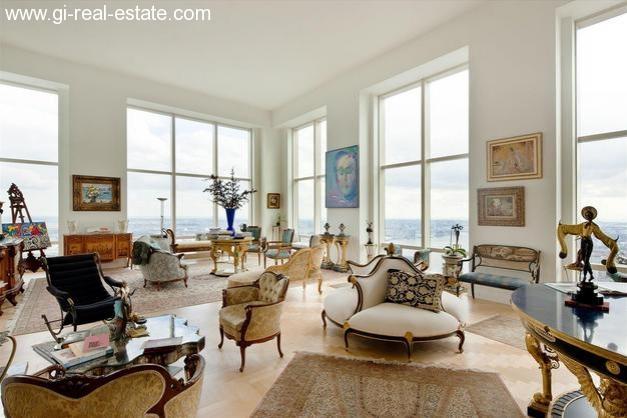 immobilien weltweit new york trump world tower penthouse apartment mit 4 schlafzimmern. Black Bedroom Furniture Sets. Home Design Ideas